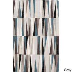 Hand-woven Lucerne Flatweave Wool Rug (3'6 x 5'6) | Overstock.com Shopping - The Best Deals on 3x5 - 4x6 Rugs