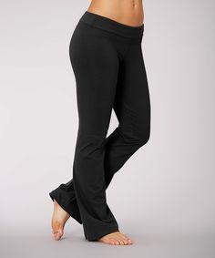 Love this Marika Black Platinum Yoga Pants by Marika on #zulily! #zulilyfinds