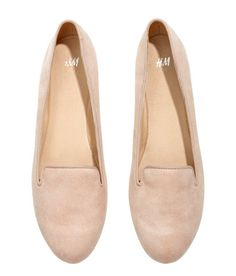 Outfit #1  H&M | Nude Loafers