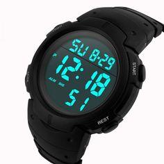 77f4c6c09fc Loja Virtual Cabanascuba · Relógios e Smartwatch · Relógio Skmei Led Digital  A Prova D água Alarme Cronômetro e Data