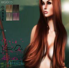 ::VD:: Ariel (Mesh Hair) Ombre