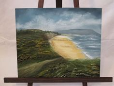 Original oil painting of Colwell Bay, Isle of Wight