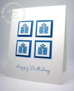 Sweet & Simple Birthday Wish - Stampin' Up! Demonstrator - Mary Fish, Stampin' Pretty Blog, Stampin' Up! Card Ideas & Tutorials