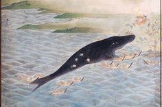 Whale God Ukiyoe