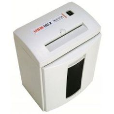 HSM 102.2cc Shredder (Level 3). Quick Overview Cross-Cut Shredder Home or Small Office use Keep Personal Information Confidential On/Off Switch and Reverse Stand-by Mode without Power Consumption Product Description The entry-level models of our HSM COMPACT series are equipped perfectly for shredding paper and documents discretely at home or at small offices. Placed immediately next to or under the desk, they can be loaded easily and start to work automatically. Additional Information...