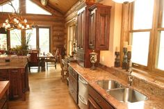 Kitchen Photos Lodge Design, Pictures, Remodel, Decor and Ideas - page 43