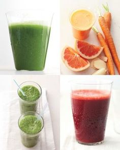 4 Juice Recipes to start your day
