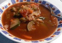 Dr Oz shared his recipe for vegetable-packed Negative Calorie Soup. Detox Vegetable Soup, Detox Soup, Vegetable Recipes, Detox Recipes, Soup Recipes, Fast Recipes, Yummy Recipes, Yummy Food, Negative Calorie Soup Recipe