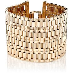 Lanvin Women's Wide-Band Bracelet (3.890 RON) ❤ liked on Polyvore featuring jewelry, bracelets, no color, chains jewelry, brass jewelry, polish jewelry, lanvin and brass bangles