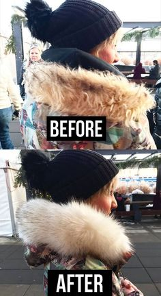 How to upgrade the faux fur trim on your parka in seconds. Us Patent, Patent Pending, I Love Winter, Fur Trim, Parka, Faux Fur, Style Inspiration, Hygge, Capsule Wardrobe