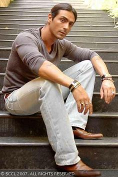 Macho man: Arjun Rampal is one guy in Bollywood who has made a huge fan following with just 2-3 films.(BCCL/Kirti Surve)See more of: OSO Villain, Mukesh Mehra's role, Model turned actor, Mehr Jessia's husband, Kim Sharma's cousin, I See You, Bollywood actor, Arjun Rampal