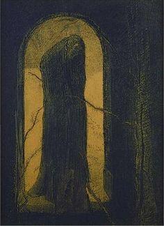 Odilon Redon (1840-1916), La Douleur - 1893