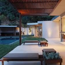 Image result for outdoor louvre roof wood