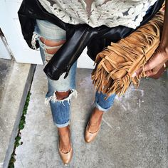 "Shalice Noel on Instagram: ""Layers of texture ❤️ / similar $80 jeans and exact pumps @liketoknow.it www.liketk.it/1Favd #liketkit"""