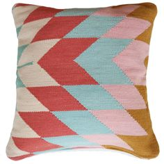 Our kelim pillow collection is inspired by the colors of the California sunset. Add some vibrance and pattern to your decor with these stunners.