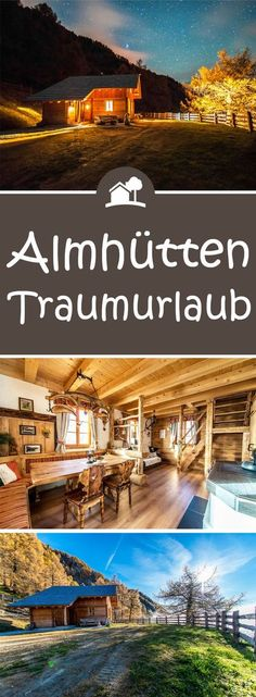 The Goldgräberhütte is fully equipped and can accommodate up to 6 people with bedrooms + 2 beds), bathroom, extra toilet and a cozy, rustic parlor. You can enjoy nature on the large hut square and relax in the sun loungers. Goldgräberhütte in Re Places To Travel, Travel Destinations, Places To Visit, Cabana, Wonderful Places, Beautiful Places, Travel Around The World, Around The Worlds, Reisen In Europa