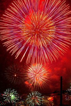 "It is not uncommon for ""hanabi"" fireworks events to be two hours long in the summertime"