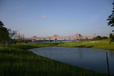 East Peoria, IL : Murray Baker Bridge From East Peoria