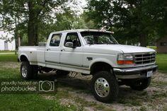 Classic Ford Trucks, Ford 4x4, Ford Pickup Trucks, Lifted Trucks, Ford Diesel, Diesel Trucks, Cool Trucks, Big Trucks, Obs Truck