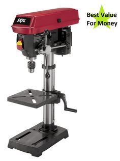 We review and compare the top drill presses to find the best drill press for the DIYer.  #drillpress #woodworking #diy