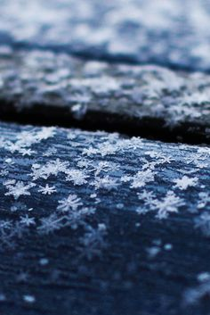 Inspiring & Dreamy | ponderation: Snowflakes on the Roof by ILIAS...