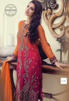 Maria.B Mbroidered Eid Dress Collection 2015 http://clothingpk.blogspot.com/2015/06/maria-b-mbroidered-eid-dress-collection-2015.html