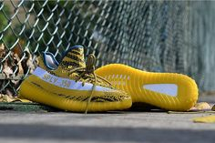 Yeezy SPLY350 Boost V2 Bright Yellow White Maize