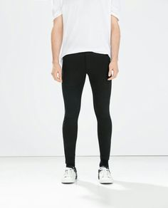 Zara Men plush leggings. Really comfortable.