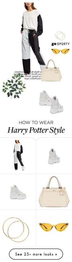 """Untitled #202"" by nemopoulain on Polyvore featuring Illesteva and Coach Balenciaga, Harry Potter, Shoe Bag, Sneakers, Polyvore, Stuff To Buy, Shopping, Shoes, Design"