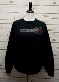 Details about Pittsburgh Steelers ~ Womens Medium ~ Rhinestone Bling Fan  Art Sweatshirt ~ EUC f6fe2ddf9