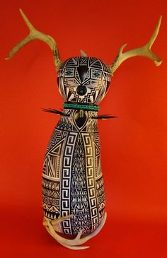Beautiful Horned Goddess Kachina