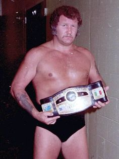 NWA World Heavyweight Champion Harley Race