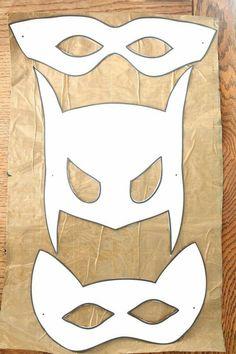 Superhelden masker sjablonen creative pinterest for Avengers mask template