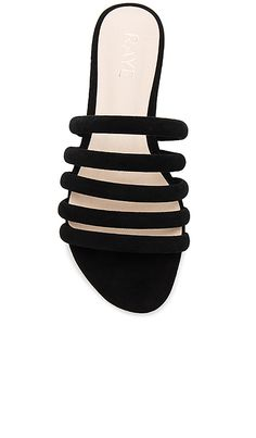 a7170125b Shop for RAYE Breeze Sandal in Black at REVOLVE. Free 2-3 day shipping
