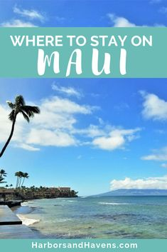 This guide to Maui resorts, hotels and condos includes tips for where to stay in Maui, Hawaii. Discover which places will be perfect for your Hawaii vacation, whether budget-friendly or luxury. Maui Lodging, Hawaii Hotels, Resorts In Maui Hawaii, Beach Resorts, Hotels And Resorts, Maui Travel, Hawaii Vacation, Usa Travel, Beach Trip