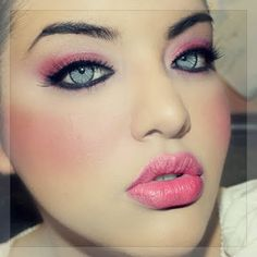 Pink Obsessed by Jolani J: pink makeup look