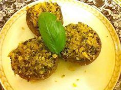 Pesto-Stuffed Mushrooms - Joy of Kosher