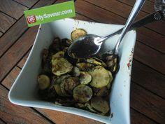 Régalez-vous avec cette recette: Courgettes marinées à la plancha. MySaveur, le seul site qui vérifie, teste et trie les meilleures recettes.