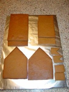 How to assemble a gingerbread house.  Gingerbread House Lane.com