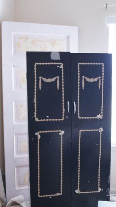 Pantry Doors Update - White Lace Cottage