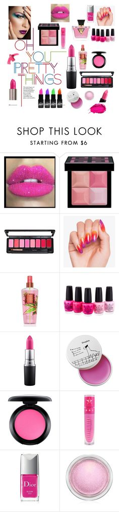 """""""Makeup 🎀💟"""" by edafono ❤ liked on Polyvore featuring Glitter Pink, Givenchy, Urban Decay, OPI, MAC Cosmetics, Jeffree Star, GUESS, Christian Dior and Elizabeth Arden"""