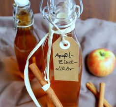 Apfel – Zimt – Likör
