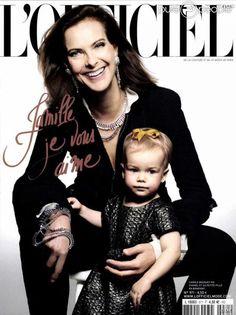 Dacha petite fille de Carole Bouquet!!!!!