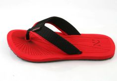 Numero Uno Red Black Flip Flops @ Rs. 244