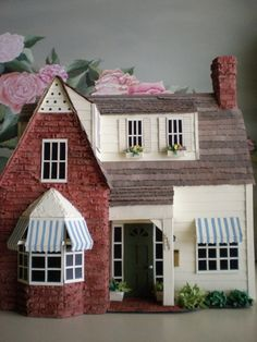 Bewitched Sitcom House Miniature Model by cinderellamoments