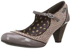 0c3e4444290 Ruby Shoo Women s Megan Mink Mid Heel Court Shoe UK 3 - EU 36 - US
