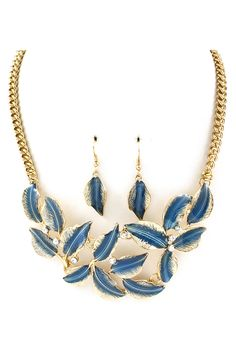 Liv Necklace in Blue Wash