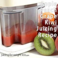 If you are looking for a great tasting fruit based recipe with an exotic twist, you'll love this apple peach grape kiwi recipe.