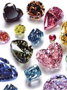 colorful diamonds—I'll take them all said the girl who loves color & sparkle