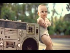 Friday Entertainment: Evian Baby Dance – Black Eyed Peas Pump It | For Good News